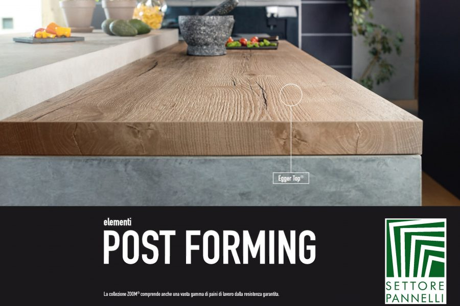 TOP in Laminato – Elementi Post Forming
