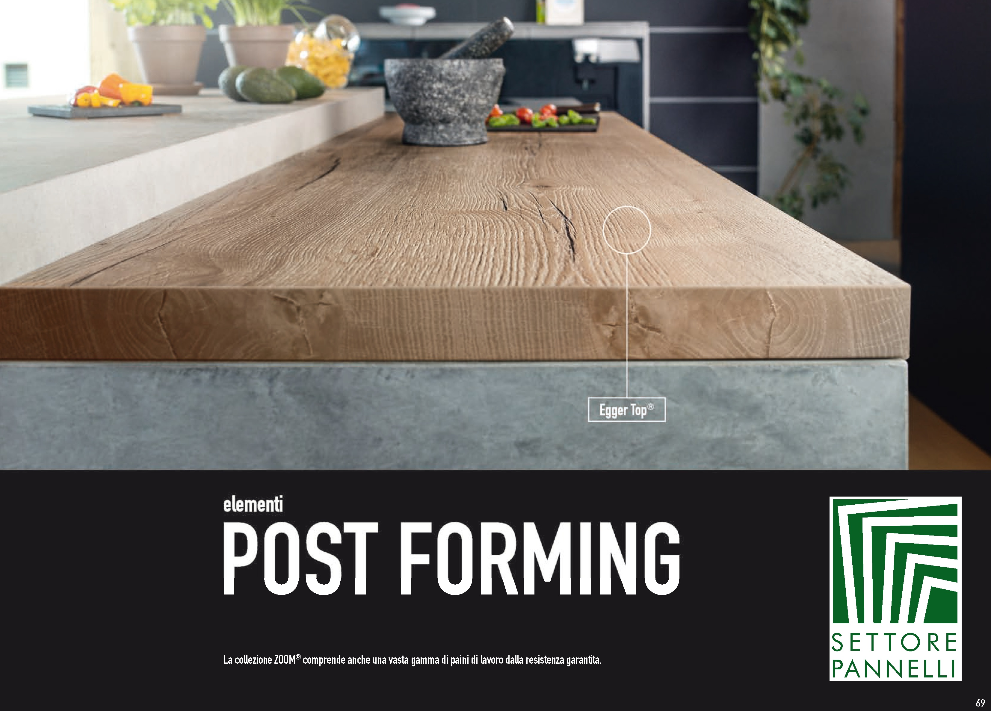 TOP in Laminato – Elementi Post Forming | Toscana Legnami